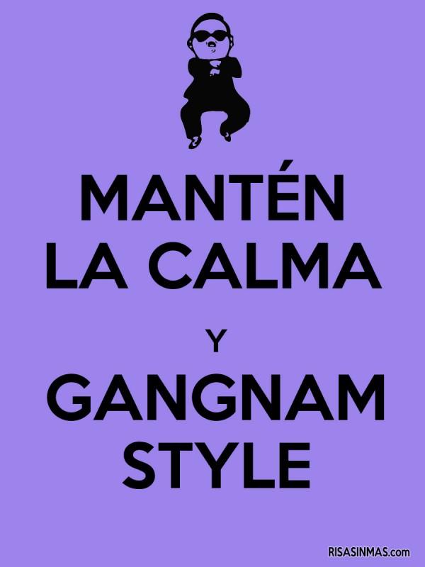 Mantén la calma y Gangnam Style