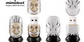 Memorias USB originales Albert Einstein