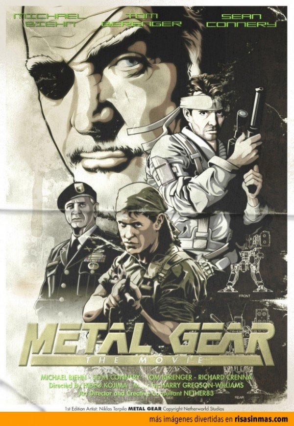 Próximamente: Metal Gear
