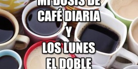 Mi dosis de café diaria...