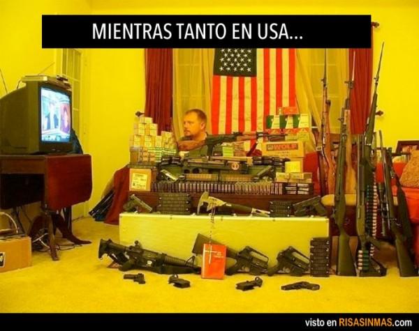 Mientras tanto en USA...
