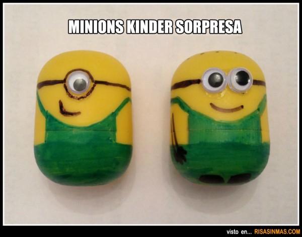 Minions Kinder Sorpresa