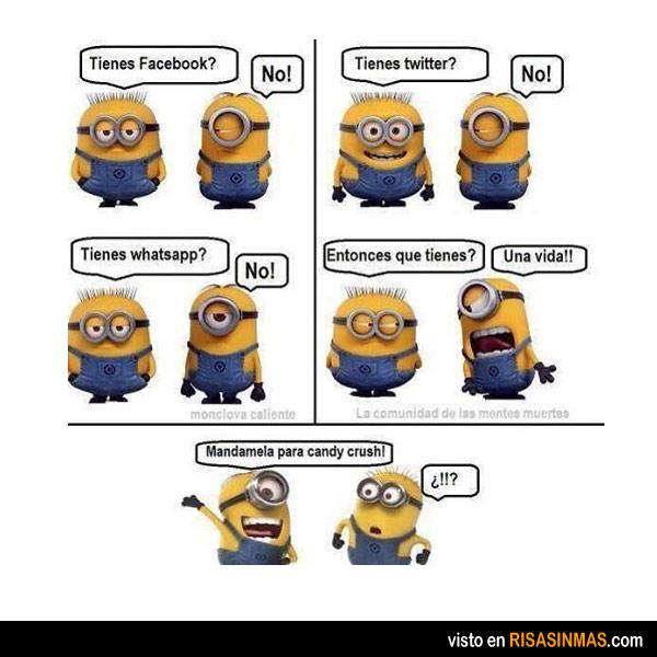 Los minions y las redes sociales