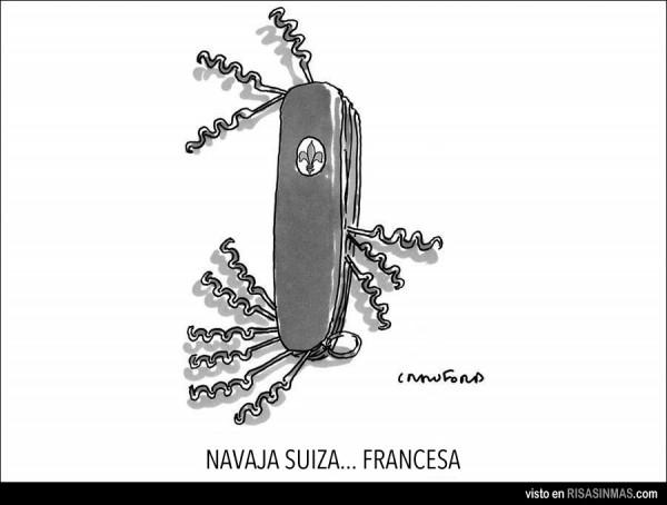 Navaja suiza francesa