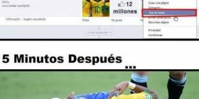 Cuidado con los toques, Neymar