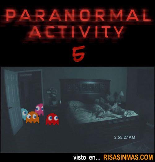 Nuevas imágenes de Paranormal Activity 5