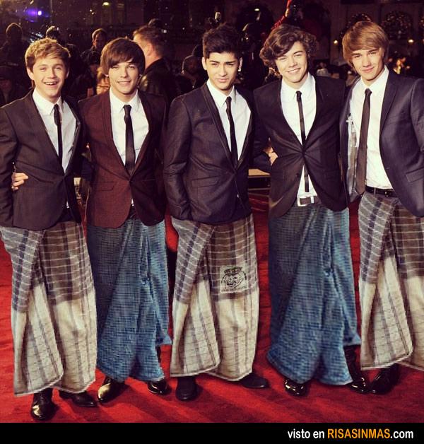 Llega la moda One Direction