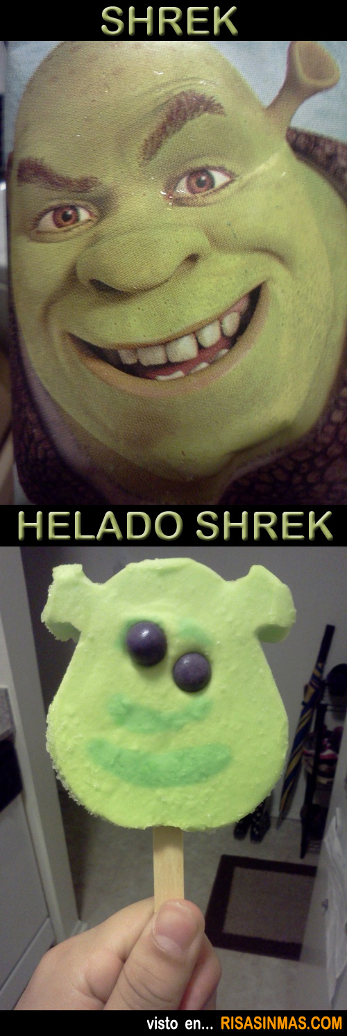 Parecidos NO razonables: Shrek