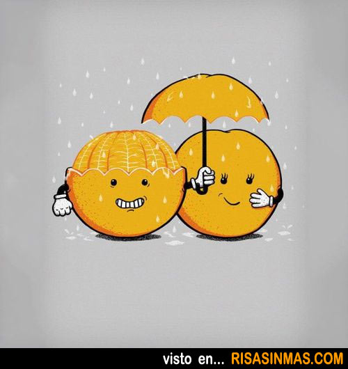 Pareja de naranjas