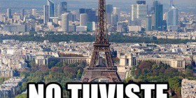 Si no estuviste en París