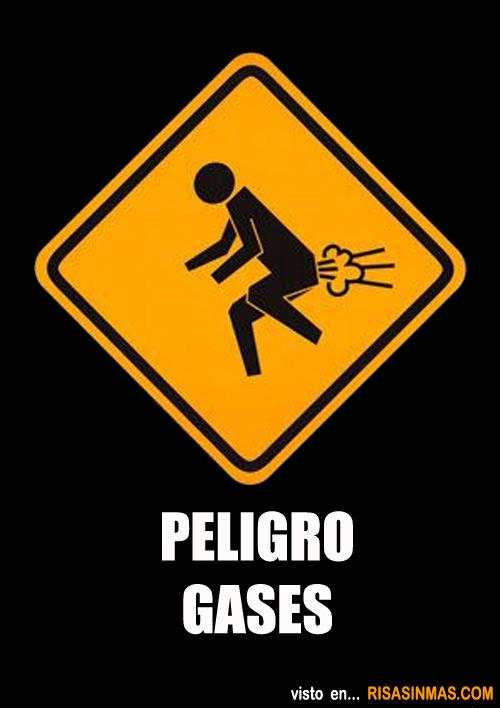Peligro gases