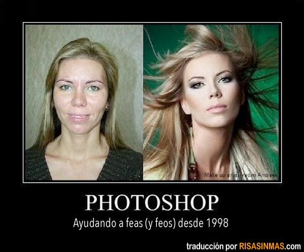 Photoshop, ayudando desde 1998