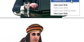 Explicación filtro rasterizar de Photoshop