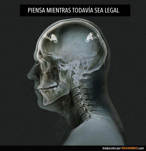 Piensa mientras todavía sea legal