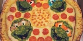 Pizzas originales: Tortugas ninja