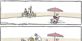 Problemas del primer mundo: en la playa