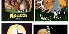 Posters de cine recreados con Comic Sans y clip art