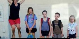 Primer día de colegio