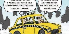 El psicólogo taxista