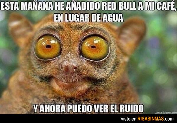 Red Bull con café