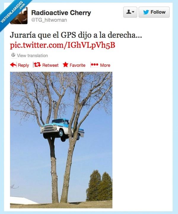 Siguiendo al GPS