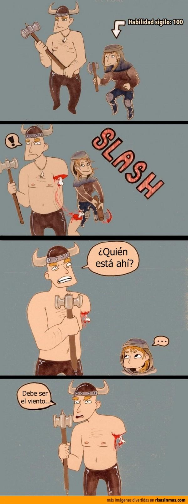 La lógica de Skyrim