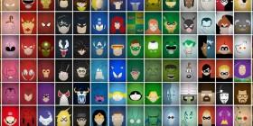 ¿Cuántos superhéroes puedes identificar?
