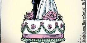 Tarta de boda 2013