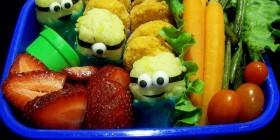 ¡Tengo Minions en mi comida!