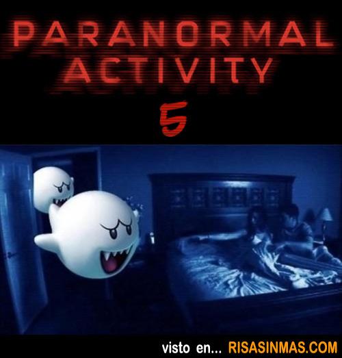 Terrorífica imagen de Paranormal Activity 5