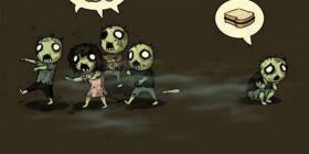 Zombies con distinto gusto culinario