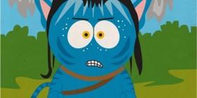 Avatar como un personaje de South Park