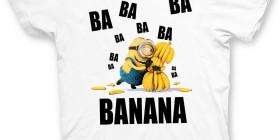 Camiseta Minions para niños