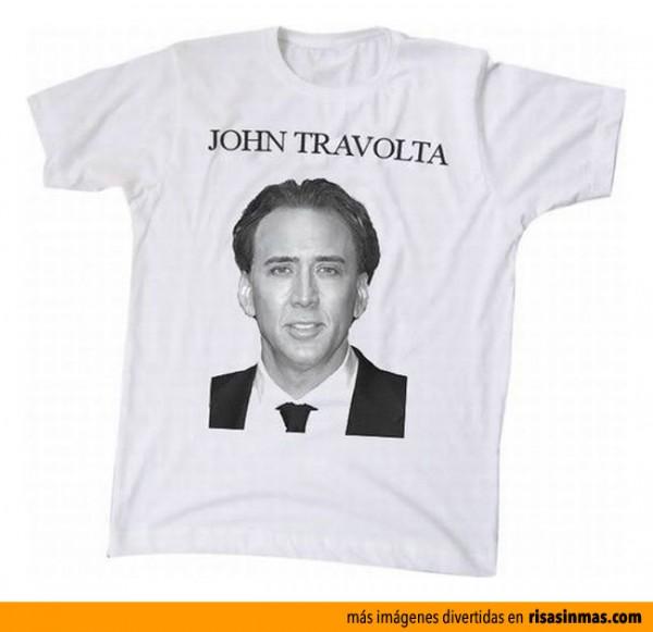 Camiseta de ¿John Travolta?