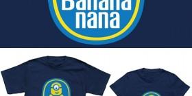 Camisetas Minions: Banana nana