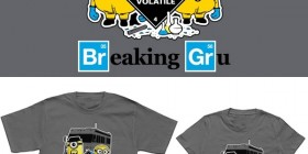 Camisetas Minions: Breaking Gru