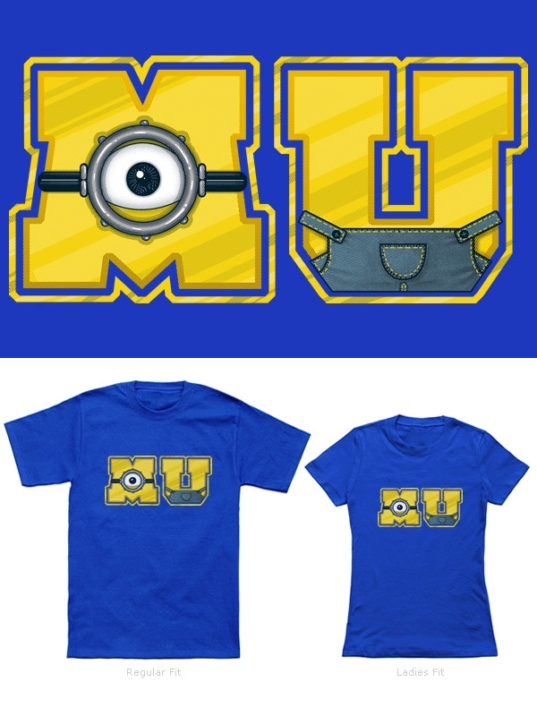 Camisetas Minions: Minion University