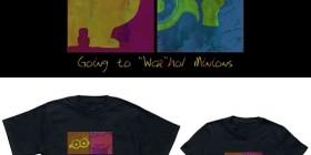 Camisetas Minions: estilo Andy Warhol