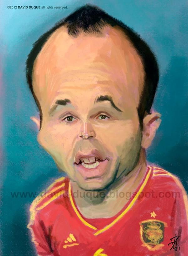 Fotos de Iniesta Caricatura-de-Andres-Iniesta-2-600x815