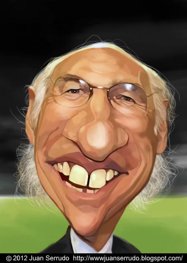 Caricatura de Carlos Bianchi