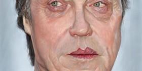 Caricatura de Christopher Walken