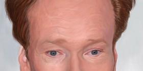 Caricatura de Conan O'Brien