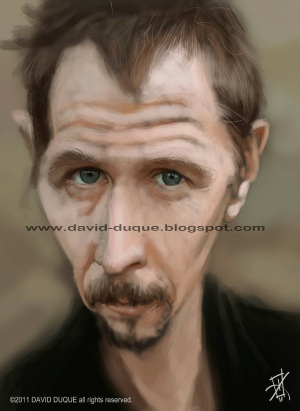 download its about Caricatura Gary Oldman pic