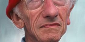 Caricatura de Jacques Cousteau