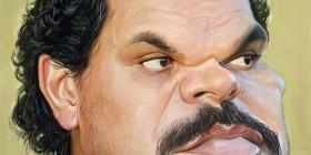 Caricatura de Luis Guzmán