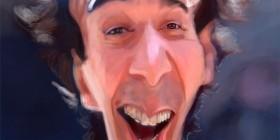 Caricatura de Roberto Benigni