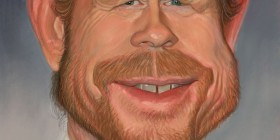 Caricatura de Ron Howard