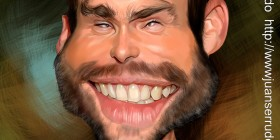 Caricatura de Seann William Scott