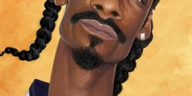 Caricatura de Snoop Dogg