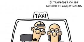Carrera de taxi un poco cara